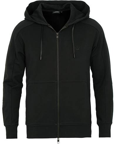 J.Lindeberg Throw Full Zip Hoodie Black