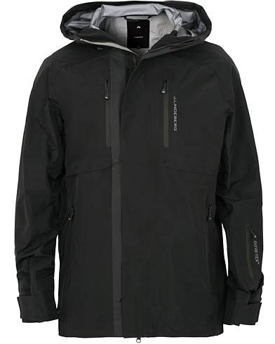 J.Lindeberg M Harper Ski 3 Layer Gore Tex Jacket Black