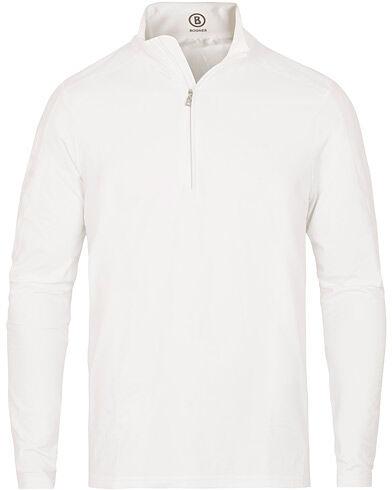 Bogner Harrison Tech Half Zip Sweater White