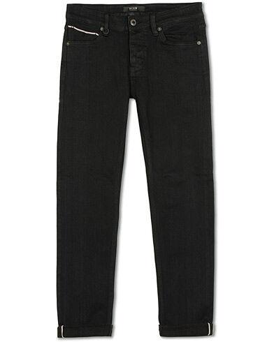 Neuw Iggy Skinny Stretch Jeans Black Selvedge