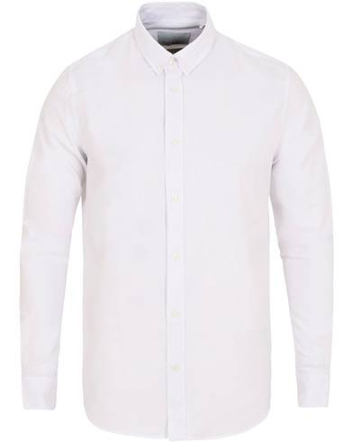 Samsøe & Samsøe Liam Button Down Shirt White