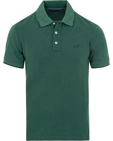 Jacob Cohën Cotton Stretch Polo Green