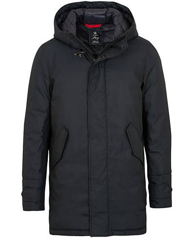Fay Technical Gabardine Luxury Parka Navy