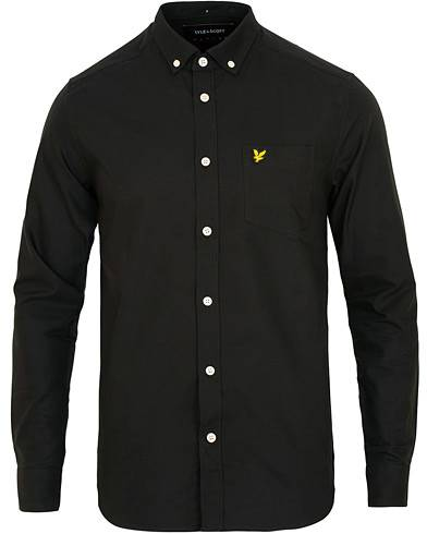 Lyle & Scott Oxford Shirt True Black
