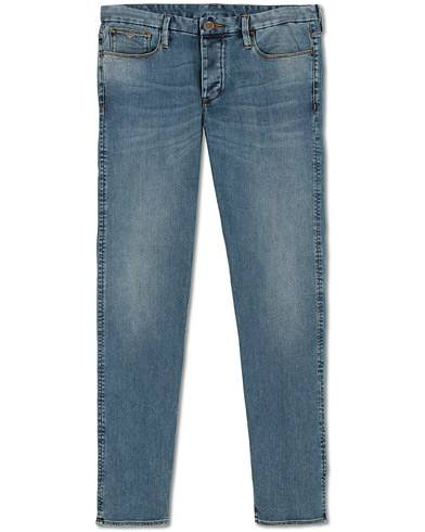 Emporio Armani Extra Slim Fit Jeans Mid Blue