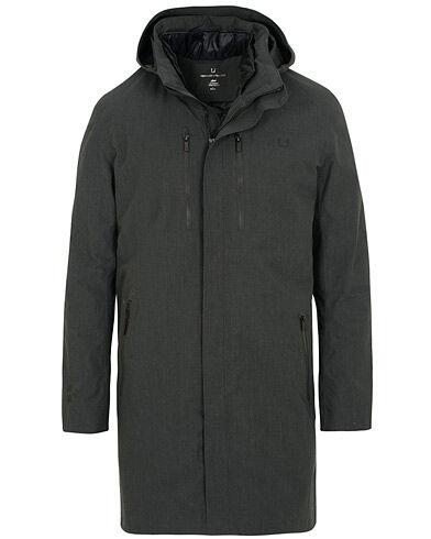 UBR UBER Black Storm Coat Delta Black Aramid