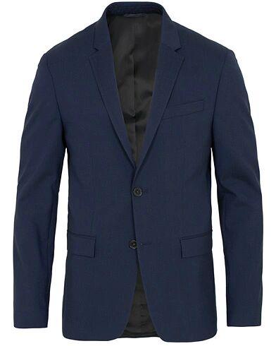 Calvin Klein Wool Stretch Blazer Ink Blue
