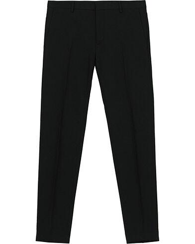 Calvin Klein Wool Stretch Trousers Black