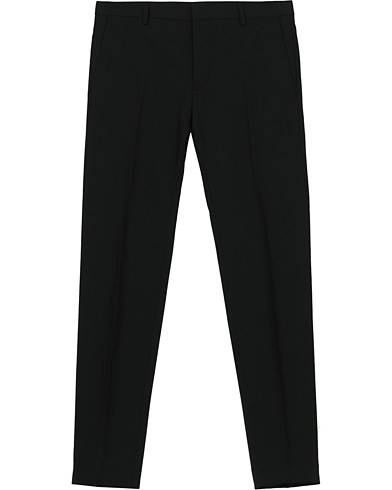 Calvin Klein Wool Stretch Trousers Black
