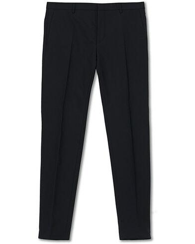Calvin Klein Wool Stretch Trousers Midnight Navy