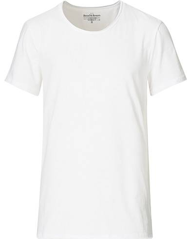 Bread & Boxers Crew Neck Relaxed White