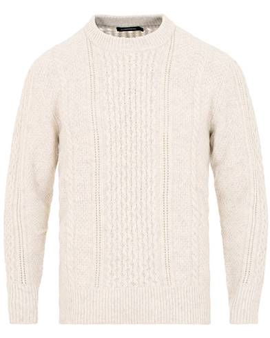 J.Lindeberg Fedor Soft Cable Off White