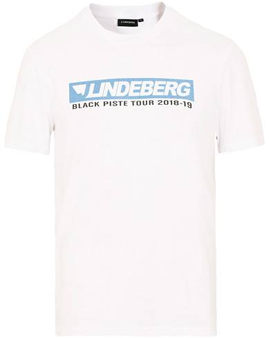 J.Lindeberg Bridge Tee Graphic Cotton White