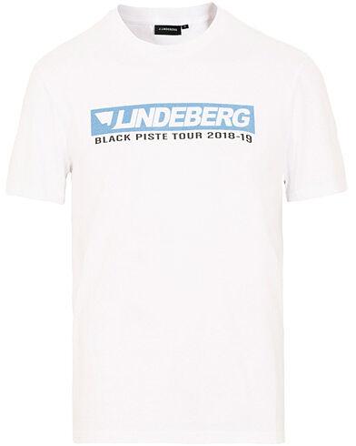 J.Lindeberg Bridge Tee Graphic Cotton White
