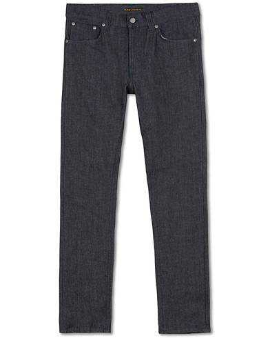 Nudie Jeans Green Collection Lean Dean Jeans Dry Green