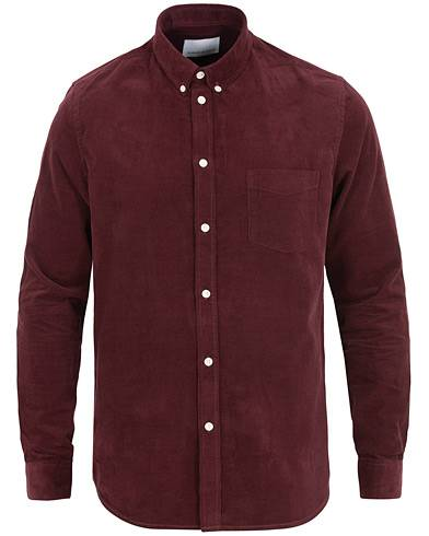 Samsøe & Samsøe Liam Babycord Shirt Port Royal