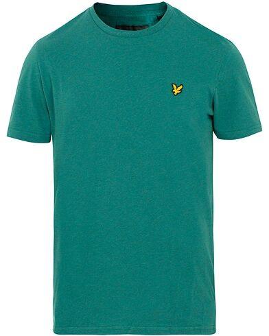 Lyle & Scott Garment Dyed T-Shirt Alpine Green Marl
