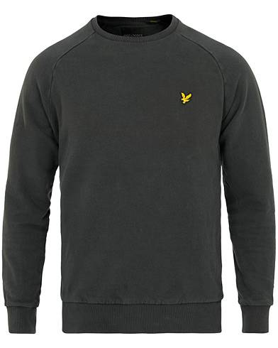Lyle & Scott Garment Dyed Sweat True Black