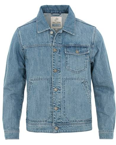 Morris Franklin Denim Jacket Light Washed