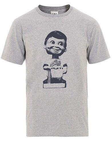 A.P.C Alton Baseball Icon T-shirt Grey Melange