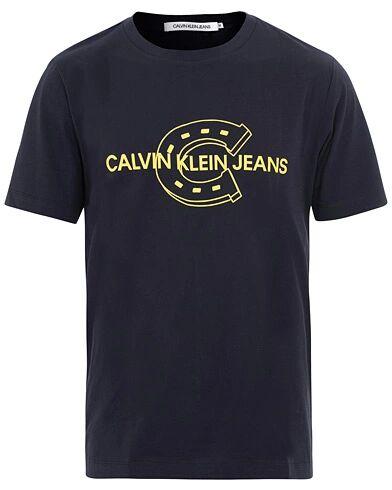 Calvin Klein Horse Shoe Crew Neck Tee Navy