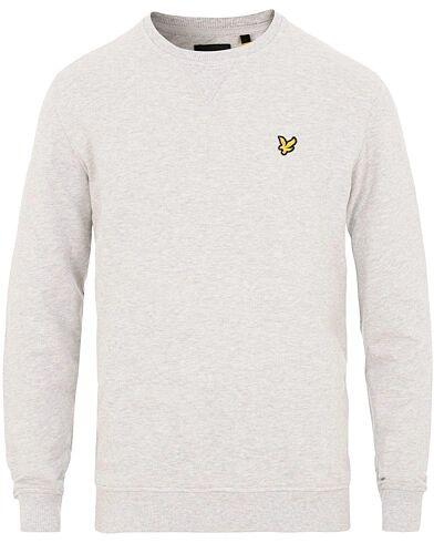Lyle & Scott Crew Neck Sweatshirt Light Grey Melange