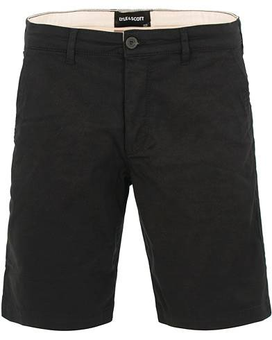 Lyle & Scott Chino Shorts True Black