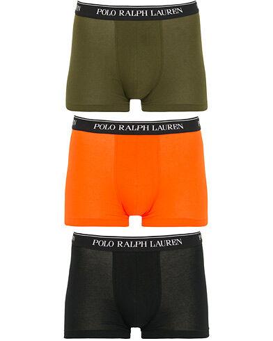 Ralph Lauren 3-Pack Stretch Trunk Orange/Green/Black