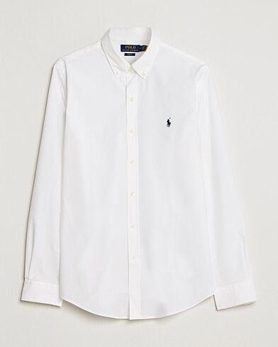 Image of Ralph Lauren Slim Fit Shirt Poplin White