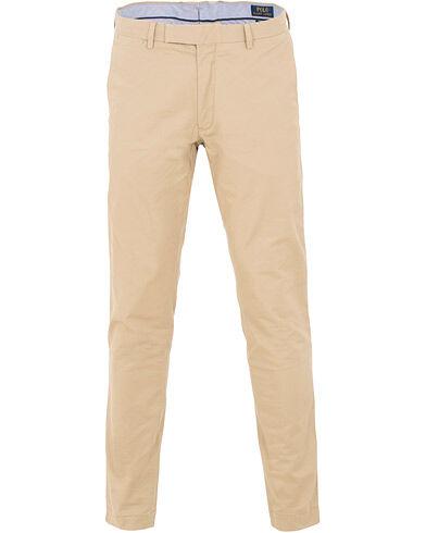 Image of Ralph Lauren Tailored Slim Fit Chinos Khaki