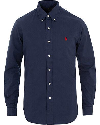 Ralph Lauren Slim Fit Featherweight Twill Shirt Newport Navy