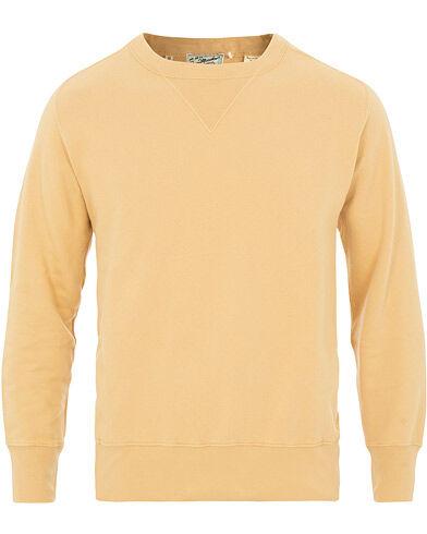 Levis Vintage Clothing Bay Meadows Crew Neck Sweatshirts Custard