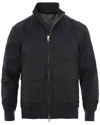 J.Lindeberg Chain Travel Tech Jacket Navy