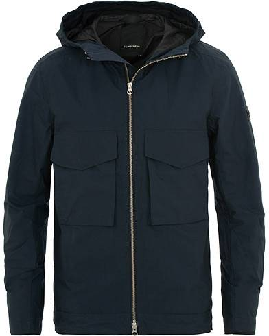 J.Lindeberg Bass Paper Cony Jacket Navy