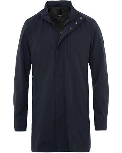 J.Lindeberg Terry Tech Stretch Coat Navy