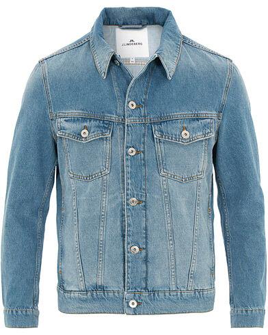 J.Lindeberg Ran Cali Denim Jacket Light Blue