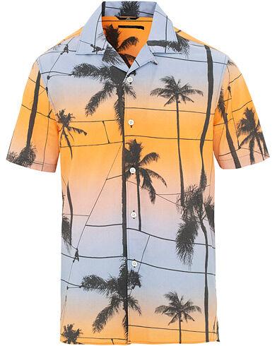 J.Lindeberg David Resort Short Sleeve Shirt Cool Peach