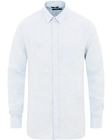 J.Lindeberg Daniel Linen Shirt Ice Flow