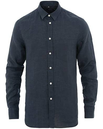 J.Lindeberg Daniel Linen Shirt Navy