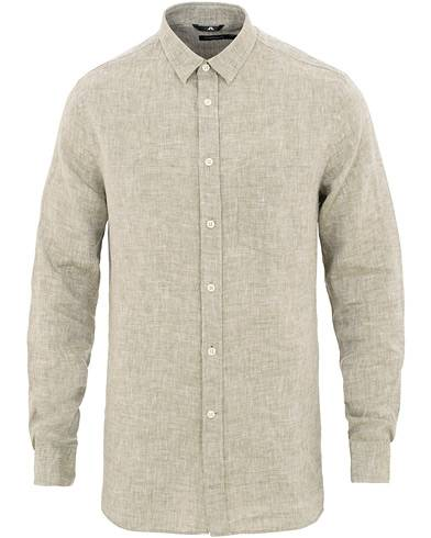 J.Lindeberg Daniel Linen Shirt Ivy Green