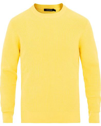J.Lindeberg Romulus Crew Neck Butter Yellow