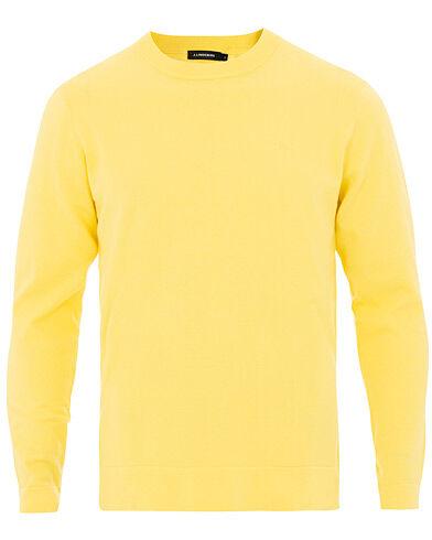 J.Lindeberg Niklas Crew Neck Butter Yellow