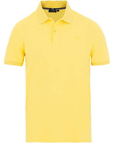 J.Lindeberg Troy Clean Polo Butter Yellow