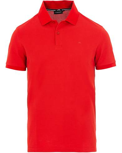 J.Lindeberg Troy Clean Polo Deep Red