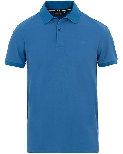 J.Lindeberg Troy Clean Polo Work Blue