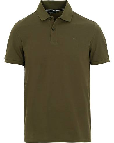 J.Lindeberg Troy Clean Polo Ivy Green