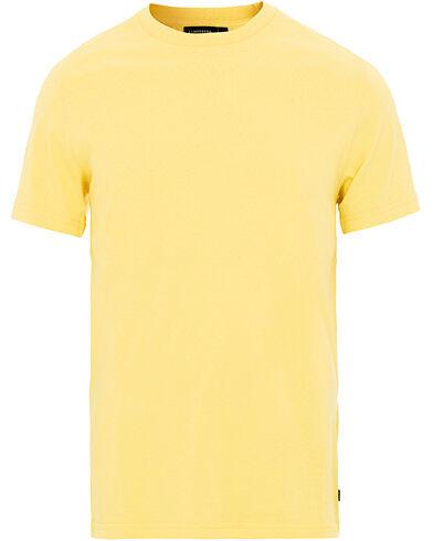 J.Lindeberg Silo Crew Neck Tee Butter Yellow