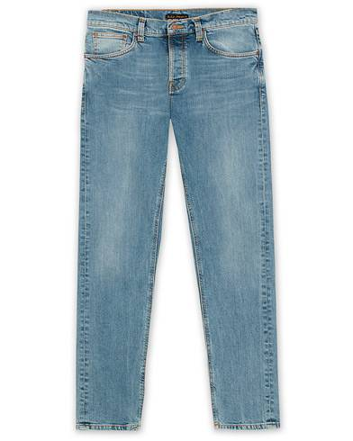 Nudie Jeans Steady Eddie II Organic Jeans Pure Blue