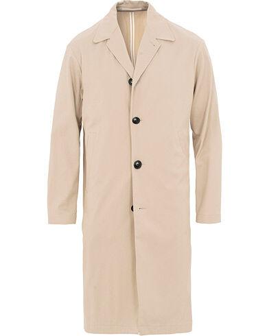 Filippa K Lucien Cotton Twill Coat Khaki