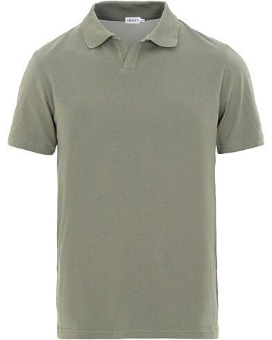 Filippa K Soft Lycra Polo T-Shirt Platoone